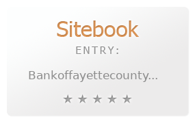 Bank of Fayette County review