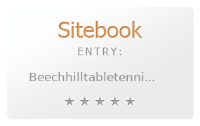 Beech Hill Table Tennis Club review