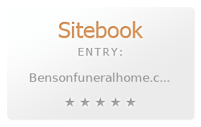 benson funeral home review