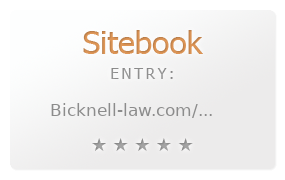 bicknell & sweet review