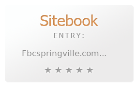 First Baptist Church, Springville review