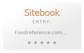 Food Reference Website review
