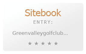 Green Valley Golf Course review