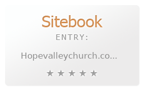 Hope Valley Church review