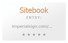 Imperial Sign review