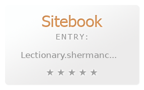 Sherman Cox Lectionary Blog and Podcast review