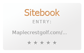 Maplecrest Golf Course review