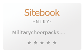 Military Cheer Packs review