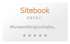 MVS Wedding Invitations review