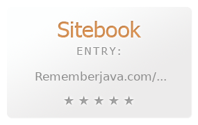 Remember Java review