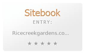 Rice Creek Gardens review