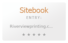 RiverView Printing review