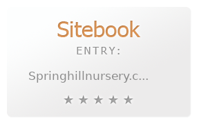 Spring Hill Nurseries review