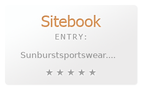 sunburst sportswear inc. review