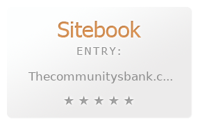 The Communitys Bank review