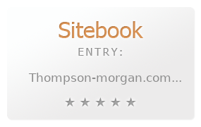 Thompson and Morgan Seeds review