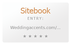 Wedding Accents review