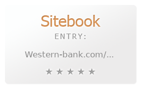 Western Bank review